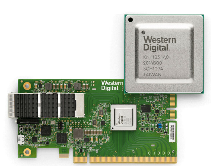 Western Digital oF NVMe SSDs