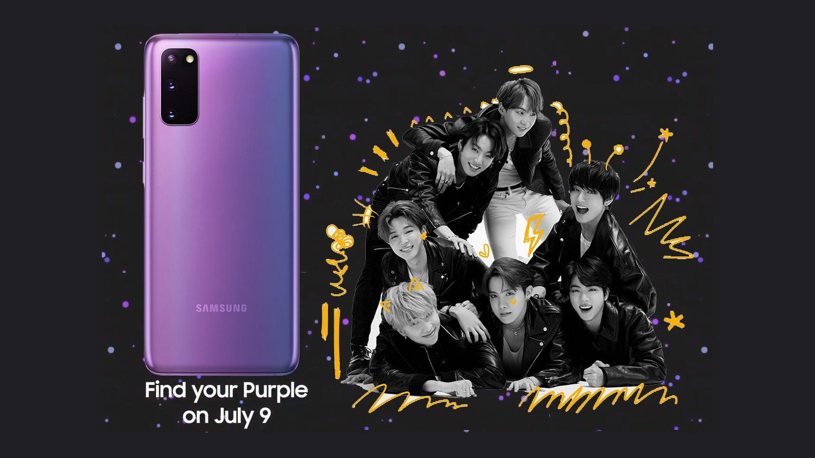 Galaxy S20 Plus BTS Edition