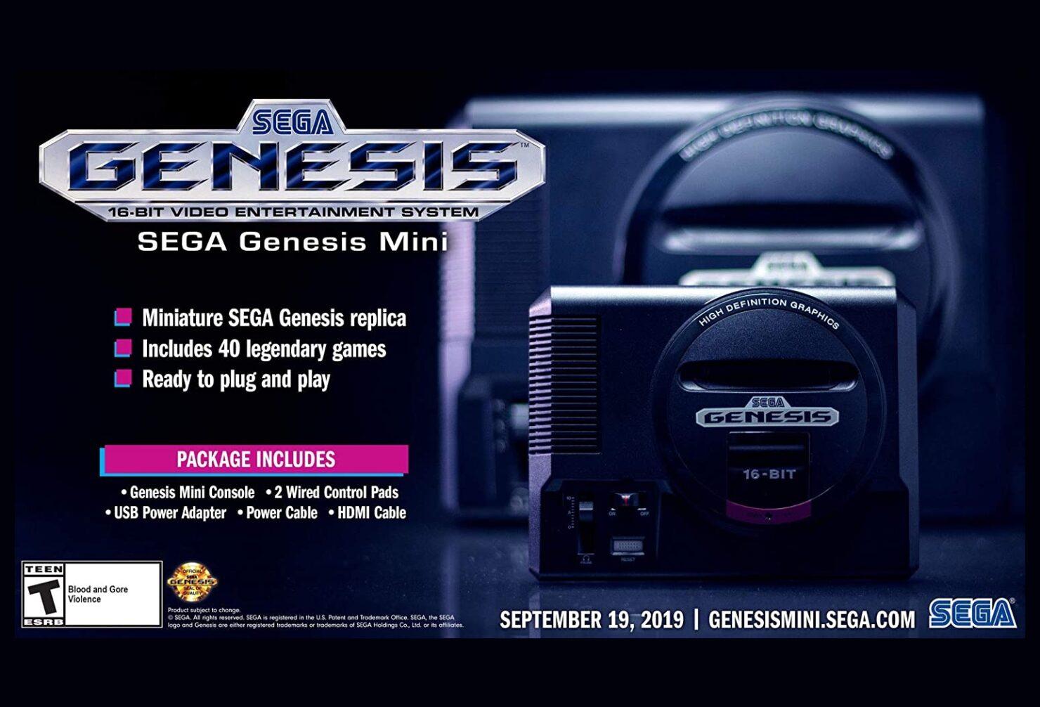 SEGA Genesis Mini drops to $49.99 once again