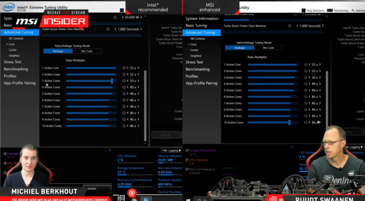 msi-b460m-mortar-intel-core-i9-10900-10th-gen-cpu-power-limit-overclocking_core-clocks