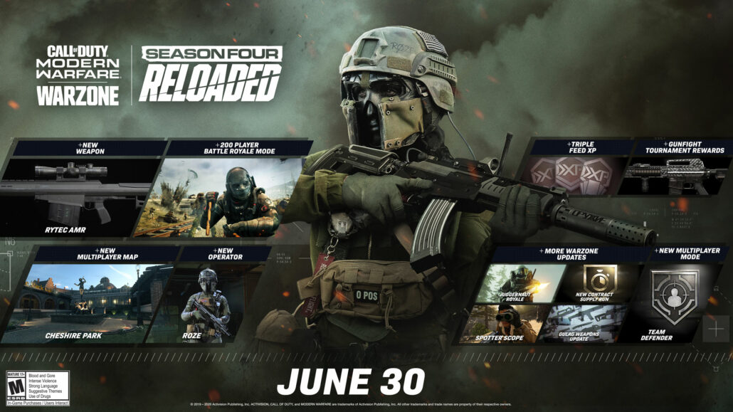 Call Of Duty Modern Warfare Reloaded Update Adds 200 Player Warzone