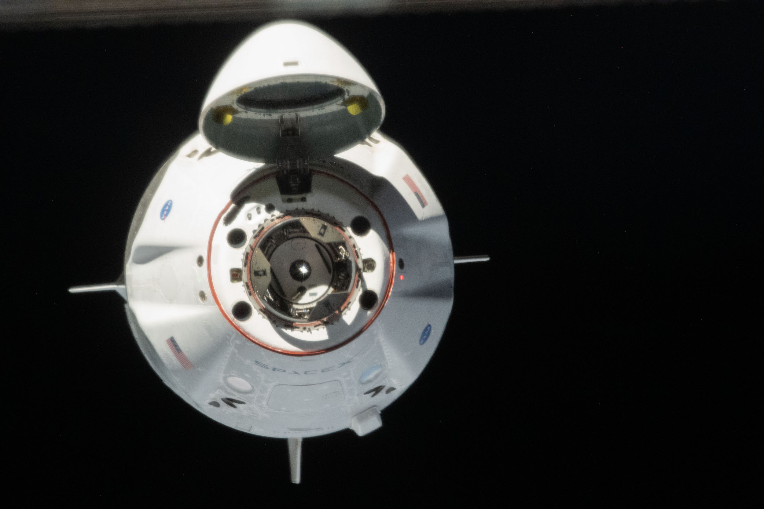 NASA SpaceX ISS Dragon 2 DM-2