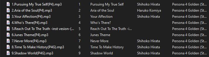 persona-4-golden-tracklist