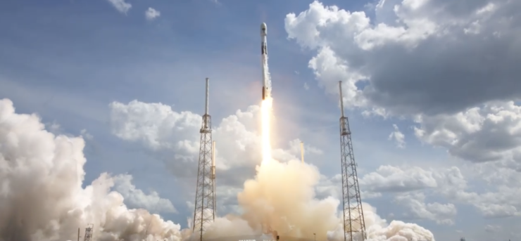 FALCON 9 GPS 3 LAUNCH SPACEX