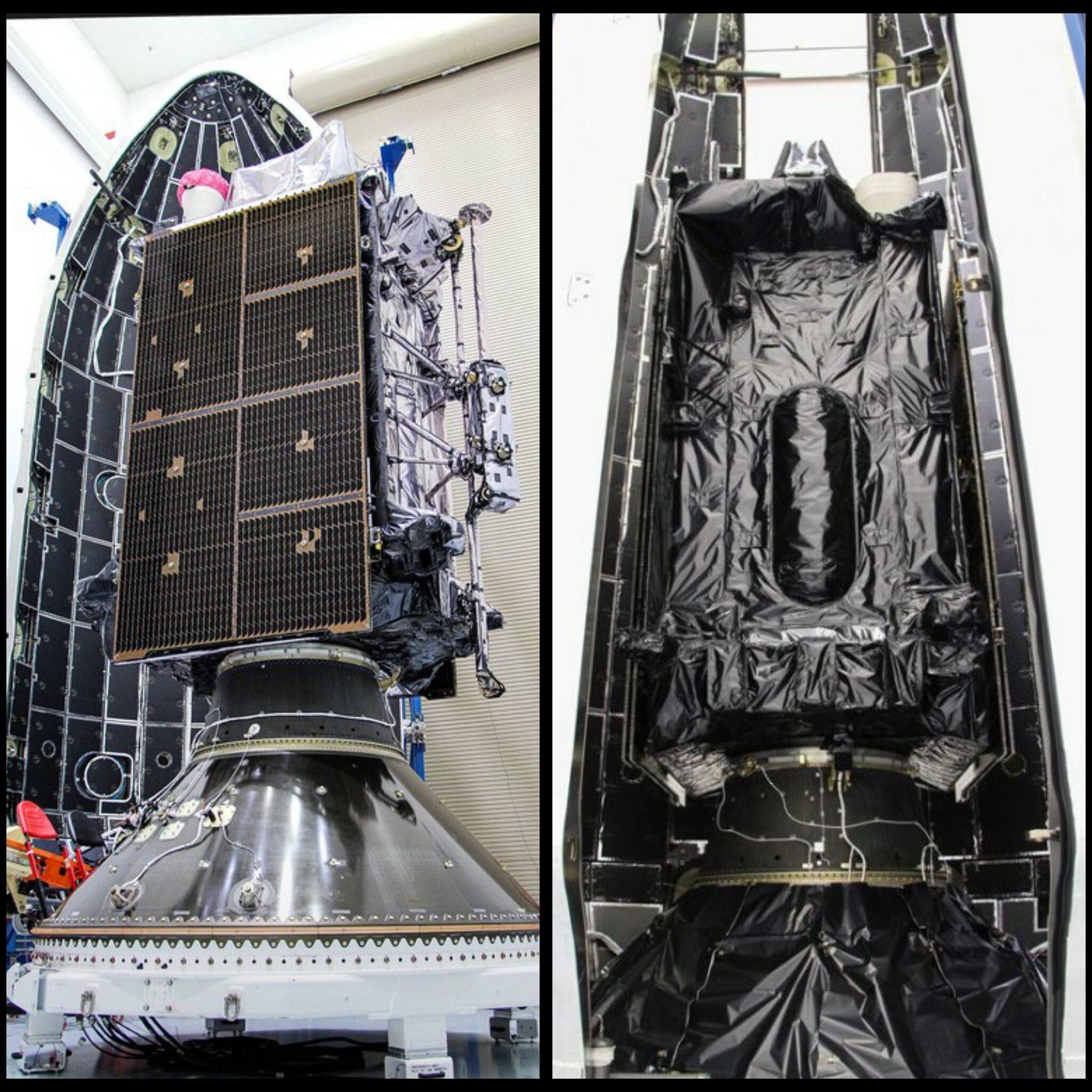 SpaceX Falcon 9 GPS III Fairing