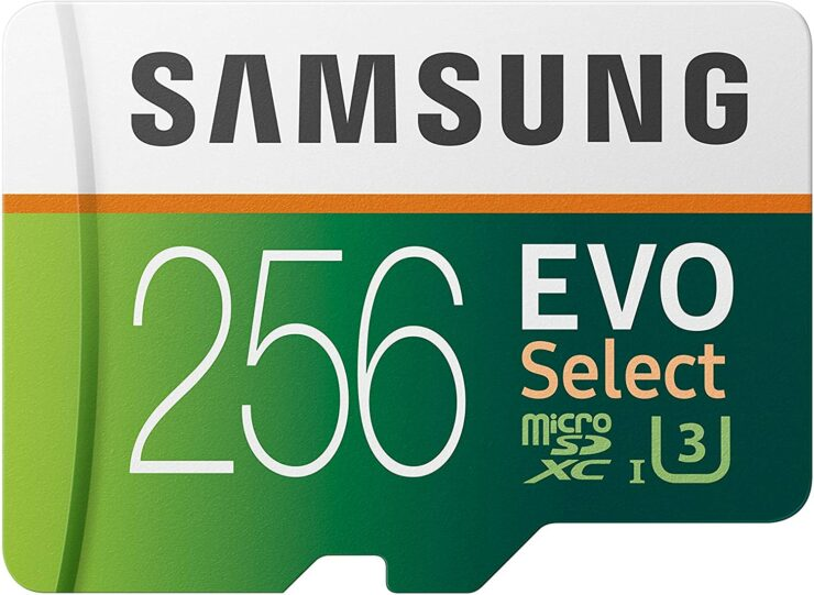 Samsung's EVO Select 256GB microSD With 4K-Ready Status, 100MB/s Read Speed Is Down to an Insane $34