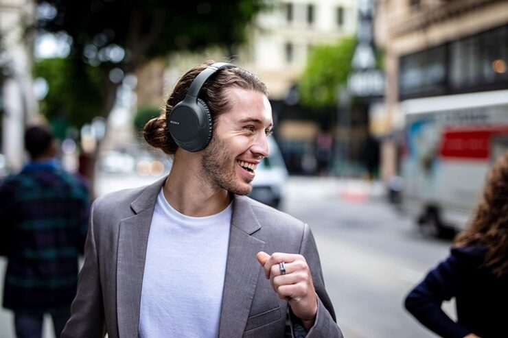 Sony Noise Cancelling Headphones WHCH710N are $72 off today