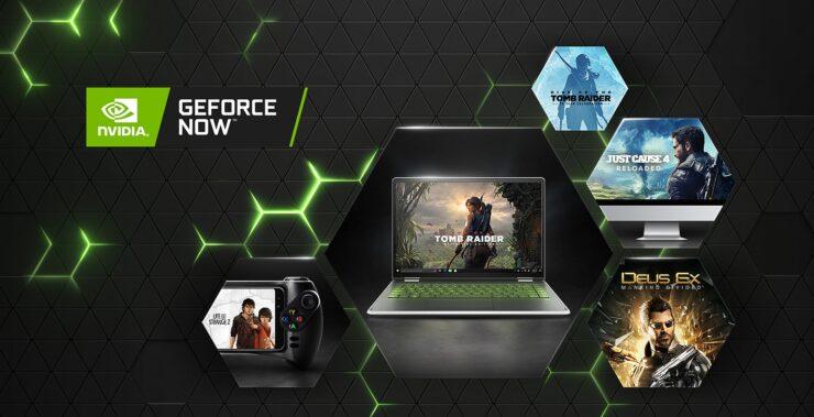 GeForce NOW Square Enix