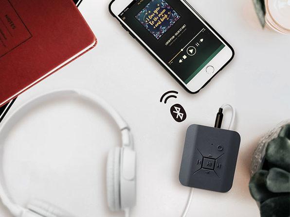 TUNAI Square Bluetooth Amp for Headphones