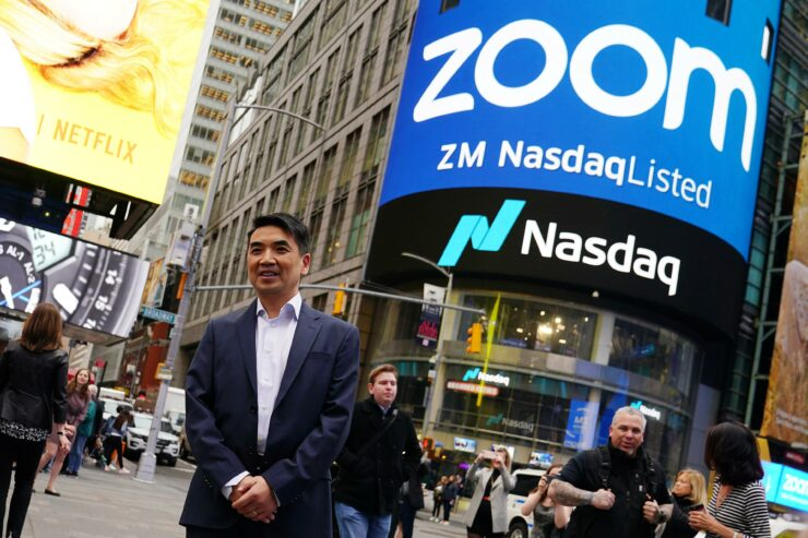 Image of article 'Zoom (NASDAQ: ZM) Soars Over 13 Percent Amid a Stock Price Target Boost by Rosenblatt on the Eve of Q1 2021 Earnings'
