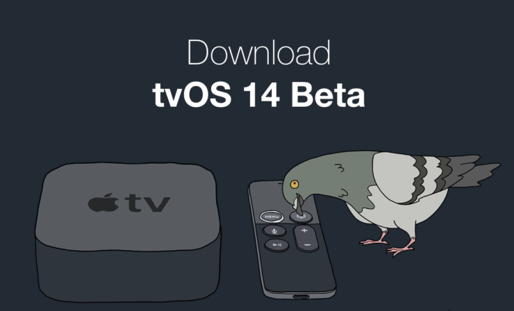 Download tvOS 14 beta on Apple TV
