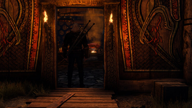 The Witcher 3 Mod True Fires