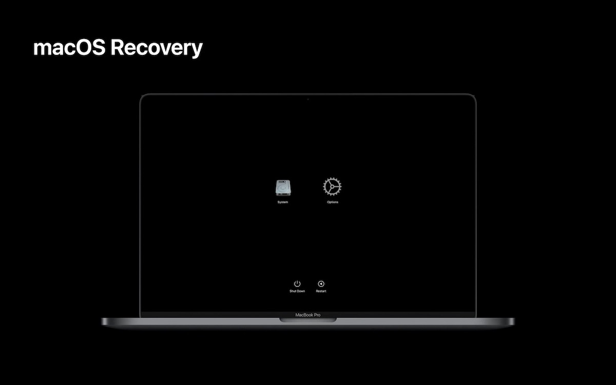 macOS Recovery Apple Silicon