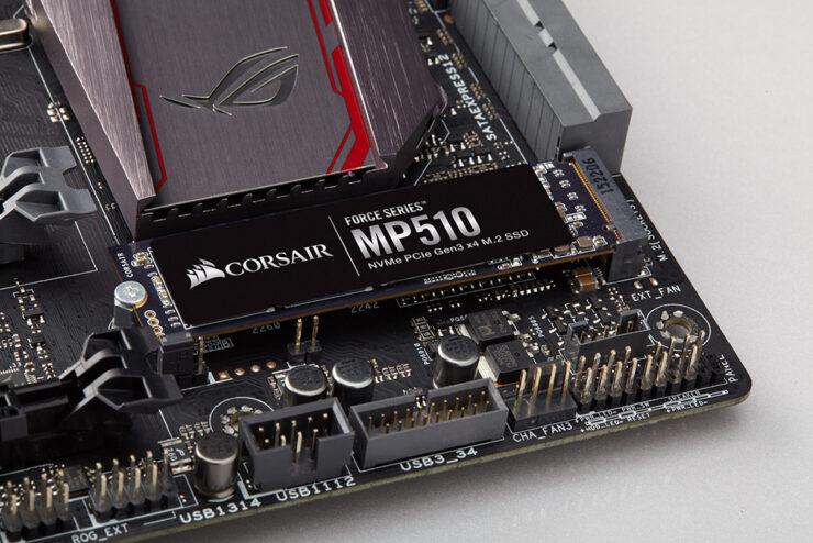 Corsair MP150 4 TB NVMe PCIe SSD