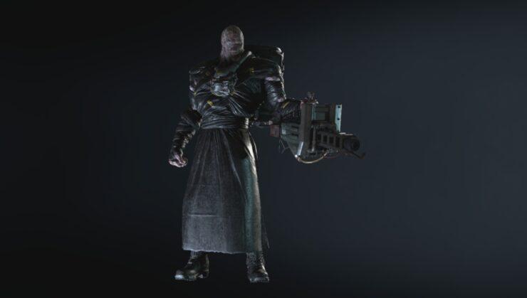 resident evil 3 remake nemesis mod head