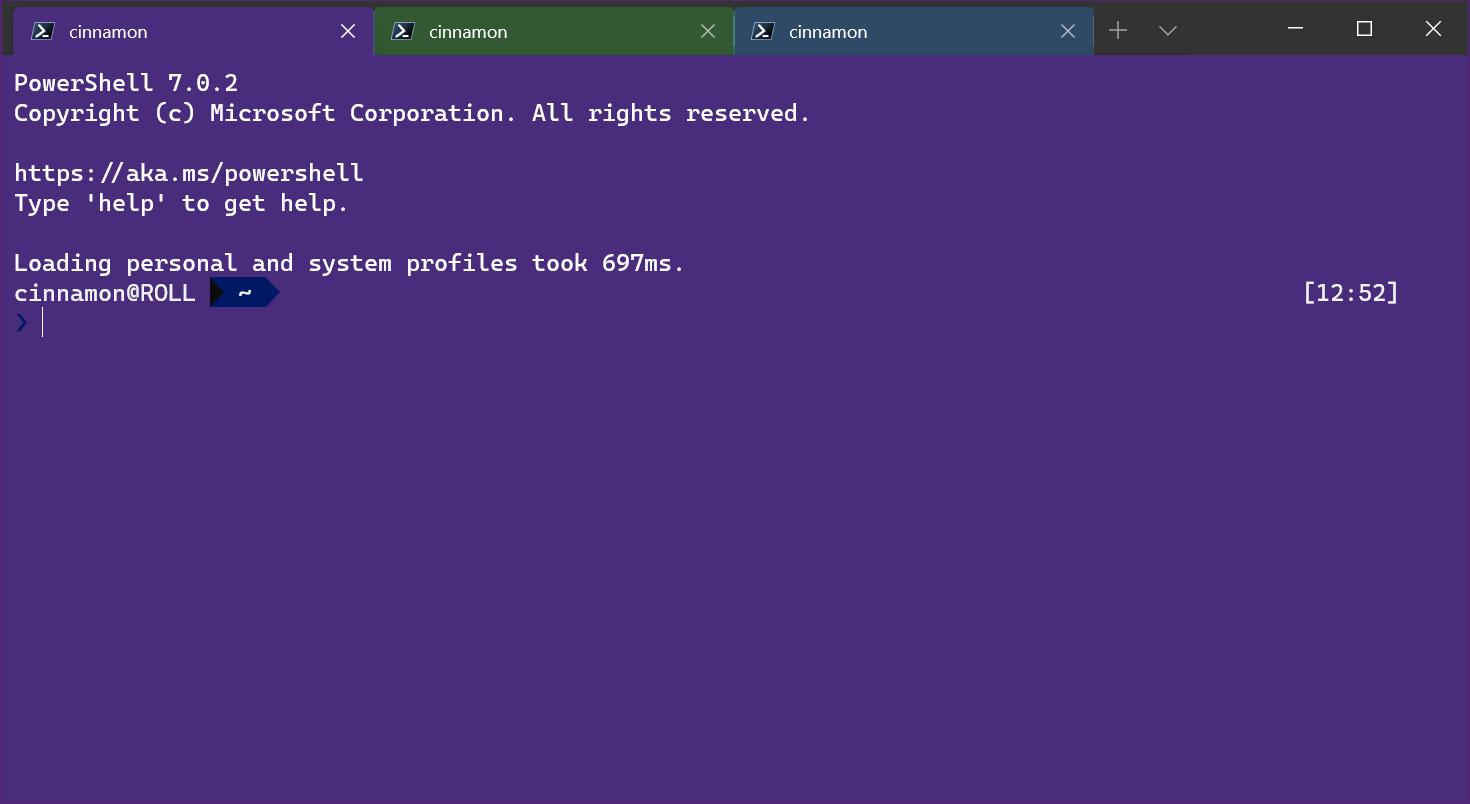 windows terminal v1.1