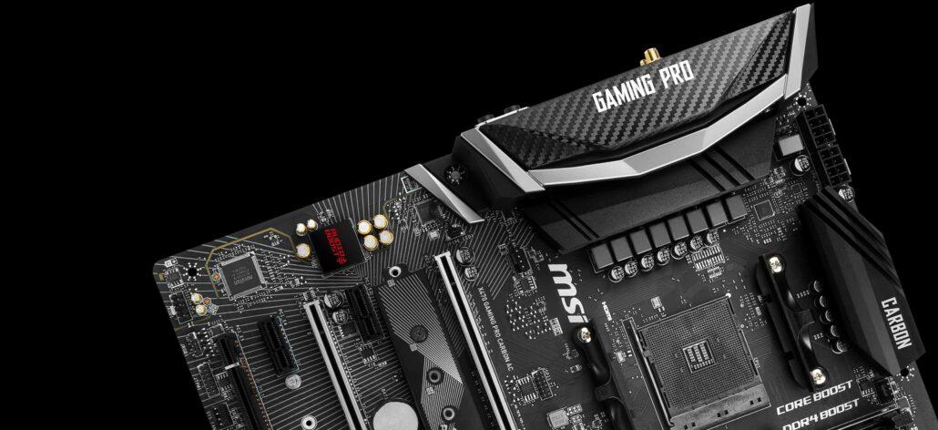 MSI 300 & 400 Series Motherboards AMD AGESA 1.0.0.6 BIOS Firmware
