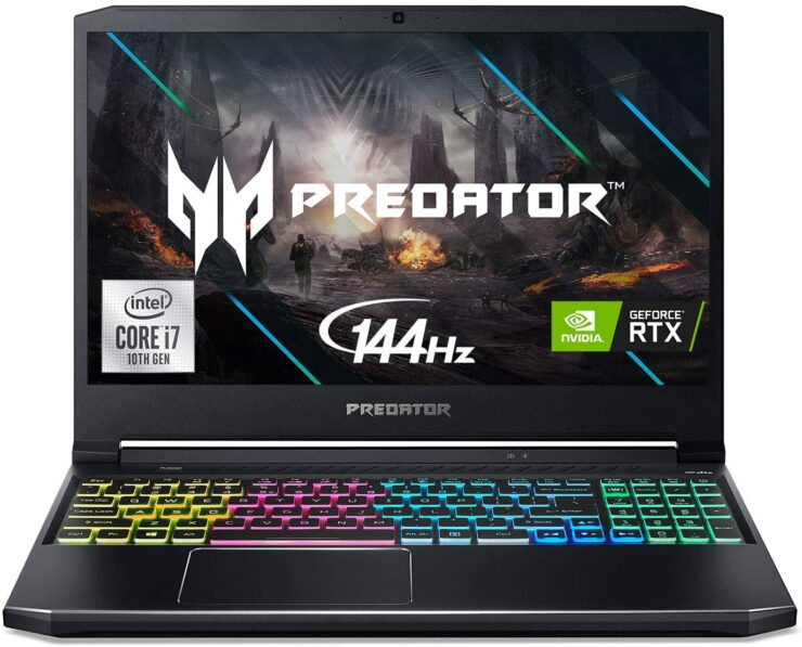 2020 Acer Predator Helios 300 With 10th-Gen Core i7, RTX 2060, Full RGB Keyboard, More, Now Available for $1,199