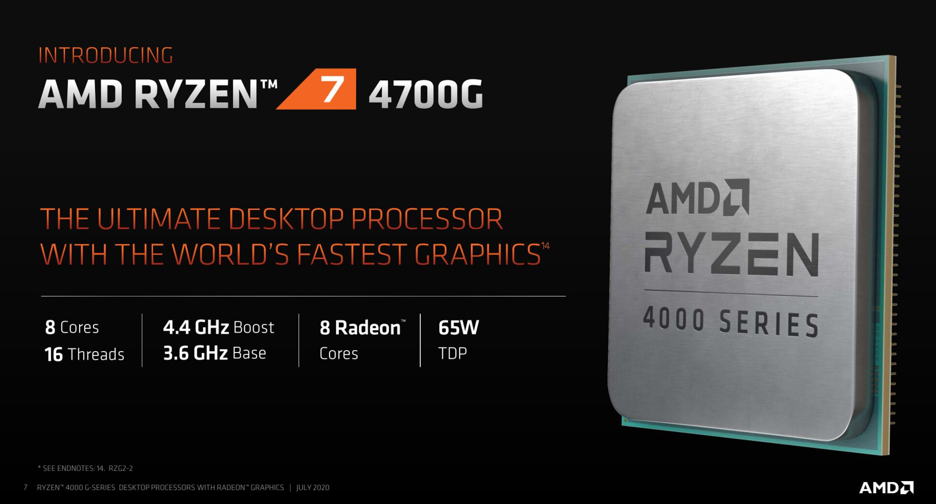 Amd Ryzen 4000 Renoir Desktop Apu Official Prices Revealed