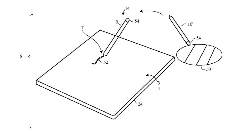 Stylus Apple Patent