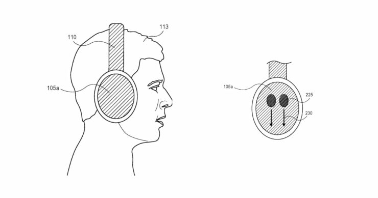 Apple over-ear headphones