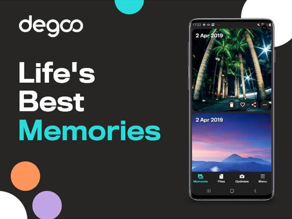 Degoo Premium Lifetime Backup Plans