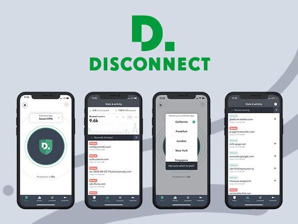 Disconnect iOS Premium VPN