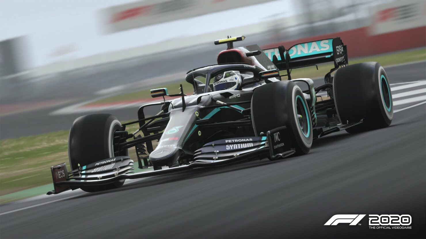 F1 2020 Mercedes Black Livery Patch 1.06