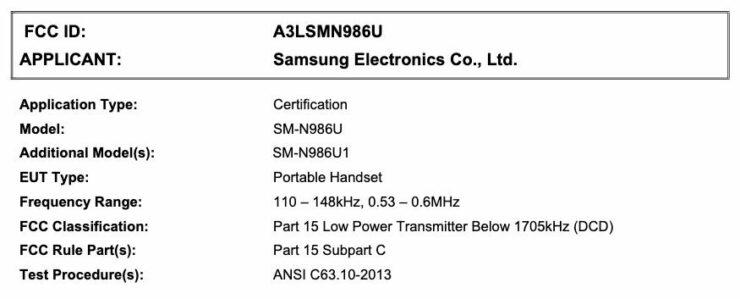 galaxy-note-20-plus-sm-n986u-fcc-certification