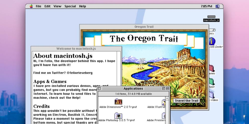 Mac OS 8 App