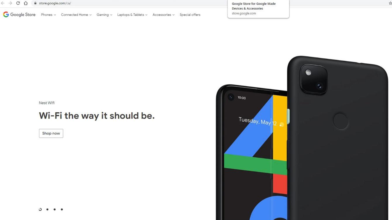 Google Pixel 4a Official