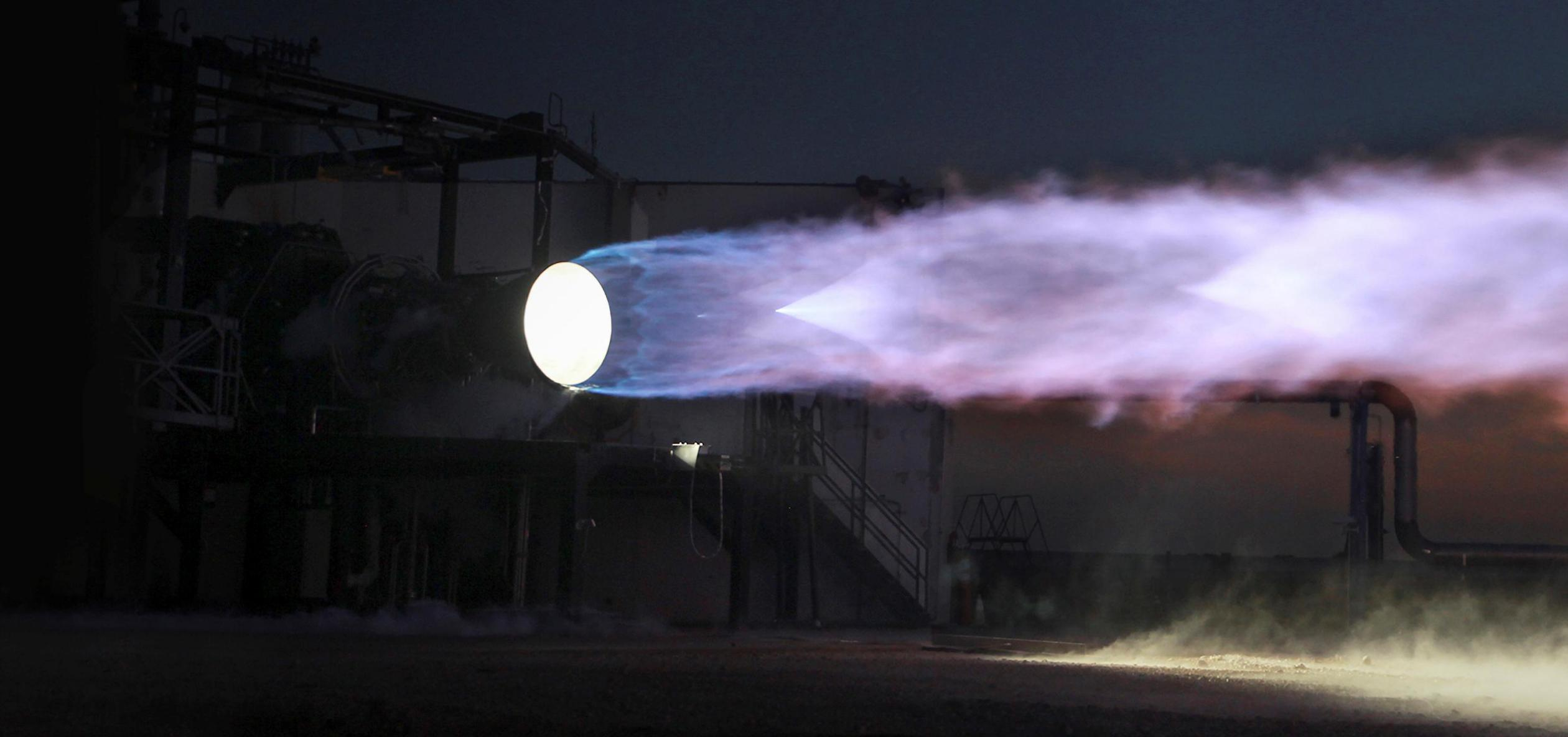 SpaceX Starship Raptor Engine