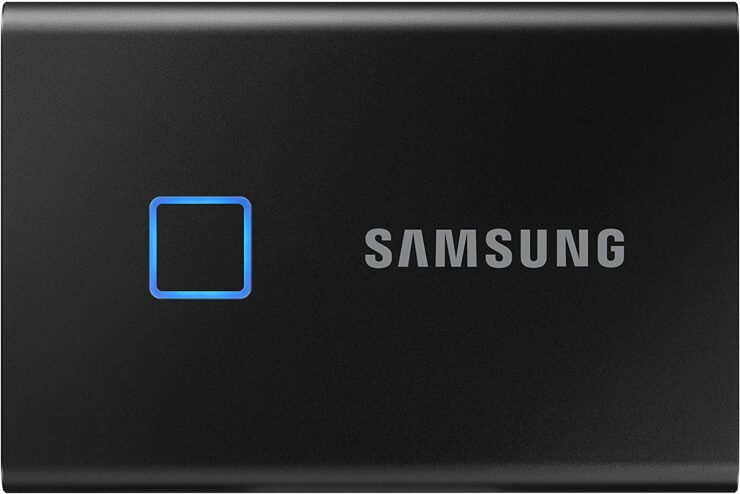 Samsung T7 Touch Portable SSD Comes With 1050MB/s Read Speeds, a Fingerprint Scanner and Is up to $50 Cheaper Right Now