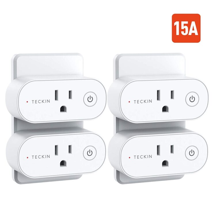4-pack of TECKIN smart plugs available for $21 today