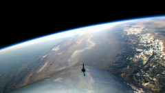 view-from-space-on-virgin-galactics-first-spaceflight