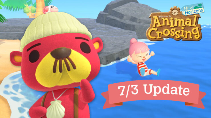 animal crossing new horizons summer update 1.3
