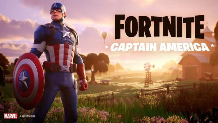 Captain America Fortnite
