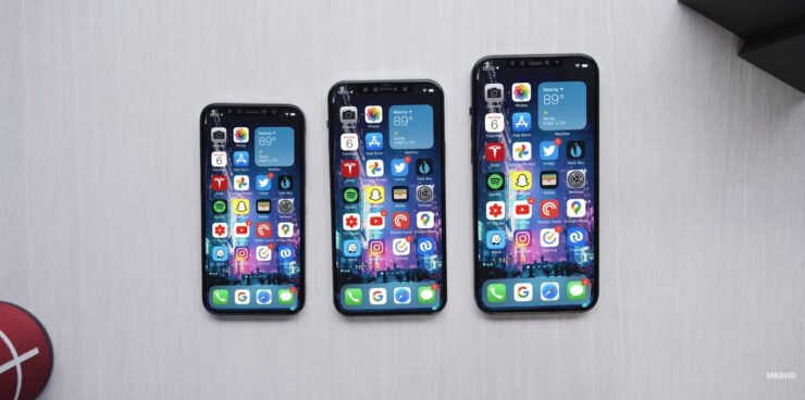 iOS 14 on iPhone 12 Models