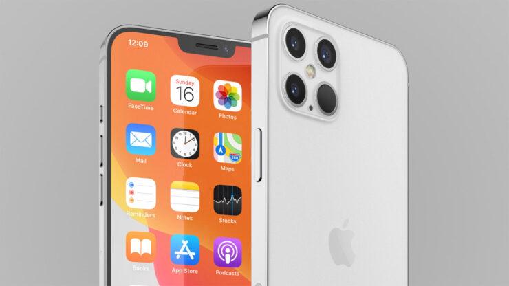 iPhone 12 OLED display