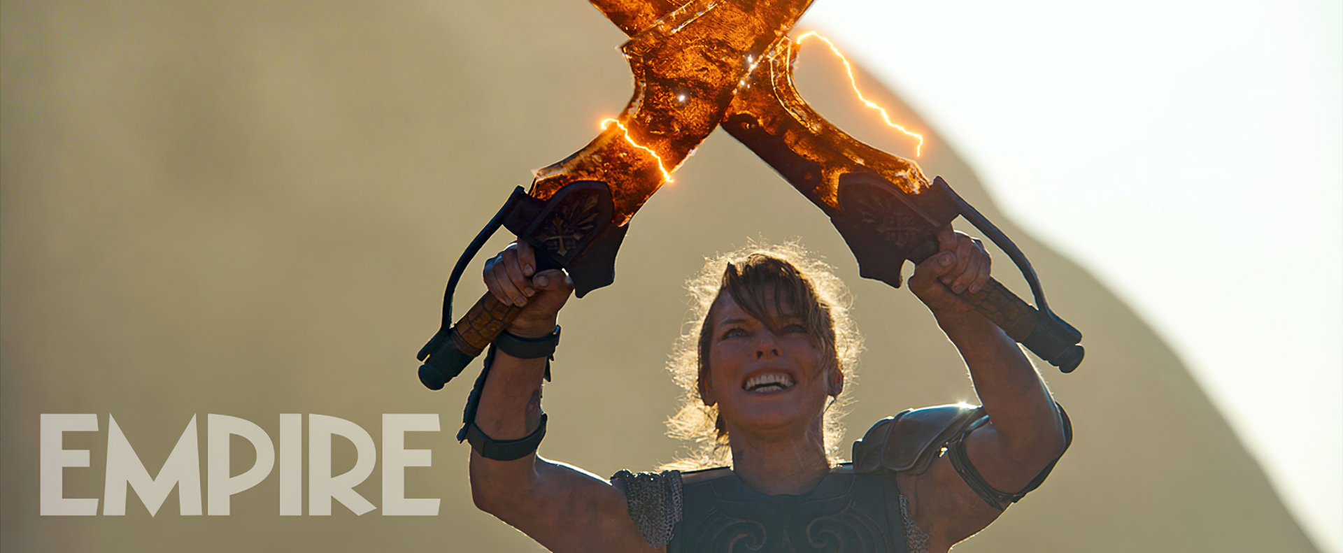 Milla Jovovich Uses Dual Blades In Monster Hunter Movie Because That S Her Weapon Of Choice In The Game
