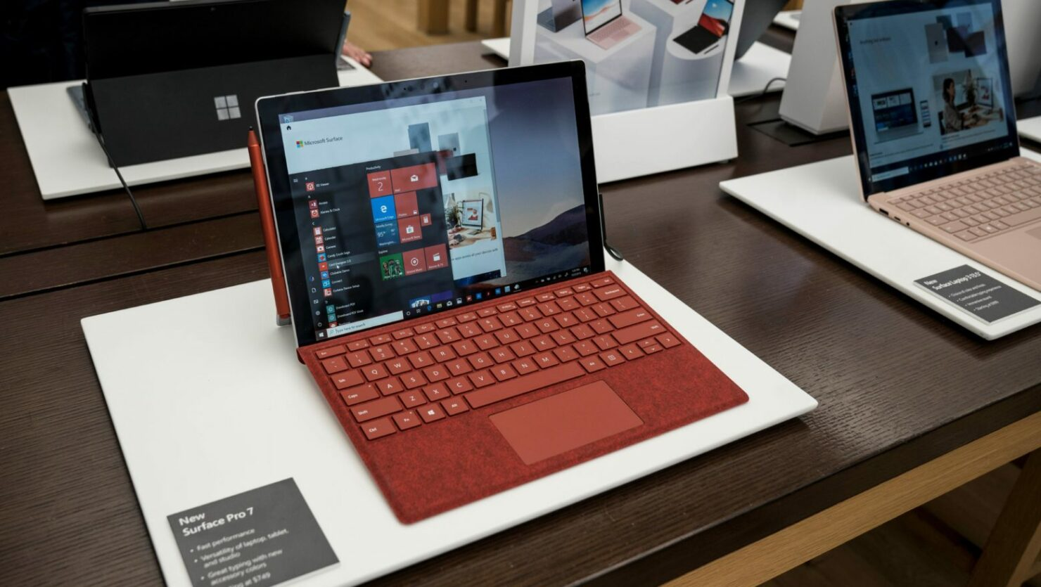 microsoft surface pro 7 discount Black Friday 2020 firmware updates