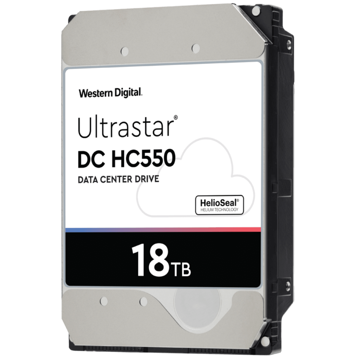 Western Digital Intros WD Gold & Ultrastar HDDs 18TB Model