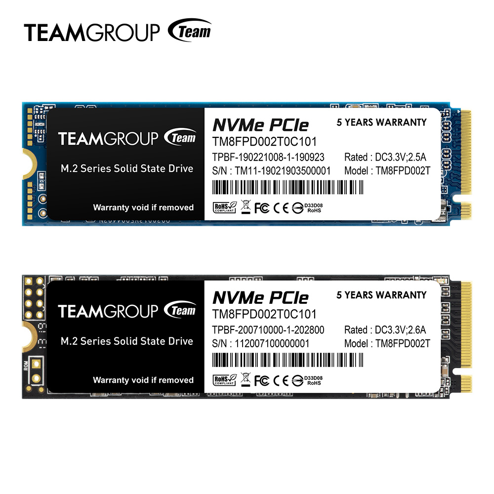 Teamgroup SSDs