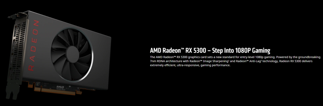AMD Radeon RX 5300 Graphics Card 2