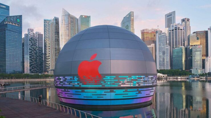 Apple Store MBS Singapore