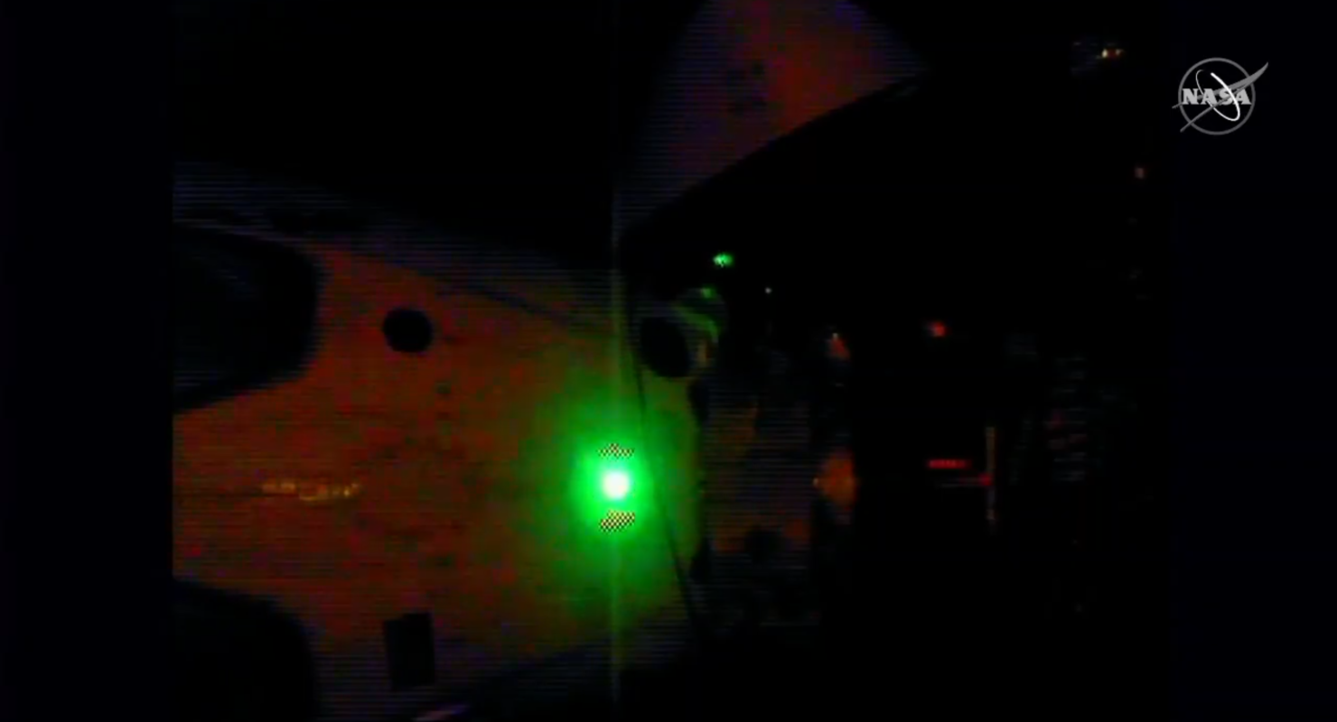 SpaceX Dragon 2 DM-2 departure
