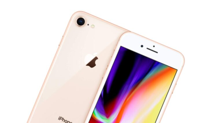 Renewed iPhone 8 in gold available for just $262
