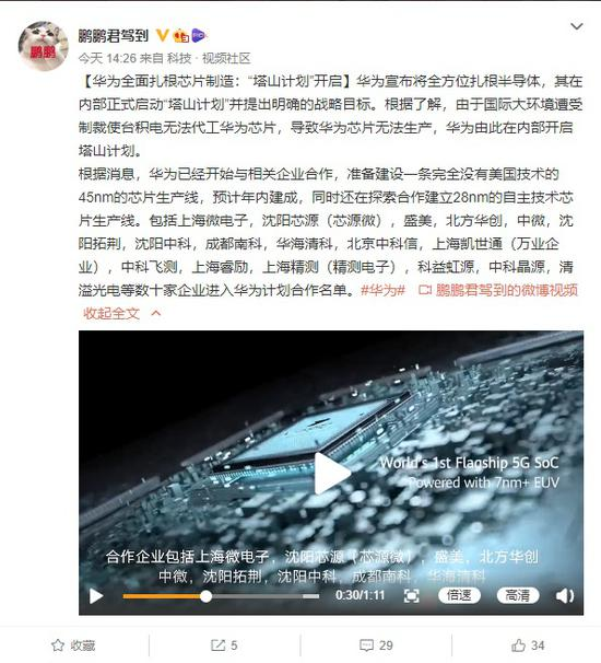 Huawei Project Tashan