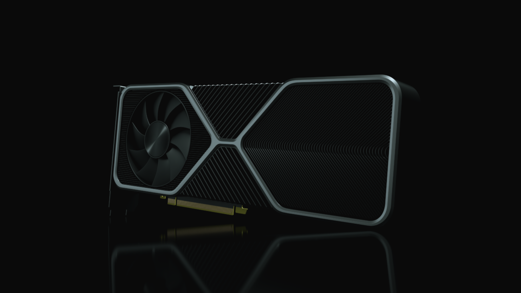 NVIDIA GeForce RTX 30 Ampere Gaming Graphics Cards_Render_New