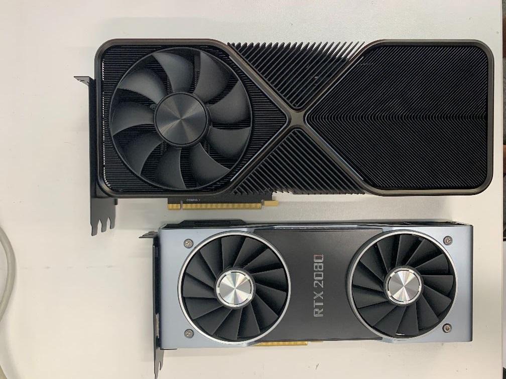 NVIDIA GeForce RTX 3090 Flagship Ampere Gaming Graphics Card, Triple-Slot Founders Edition Cooling Design Dengan Harga $ 1400 US